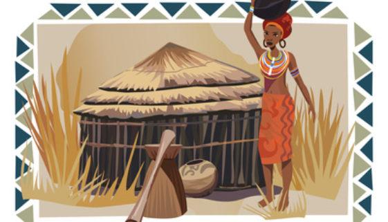 Schwarze Seife Afrikas