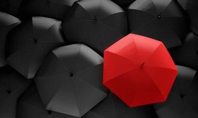 Regenschirme sind die perfekten Werbeträger